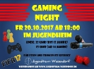 Gaming Night Oktober 2017